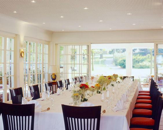 Beispiel: Hochzeitstafel, Foto: Luckner Parkrestaurant.