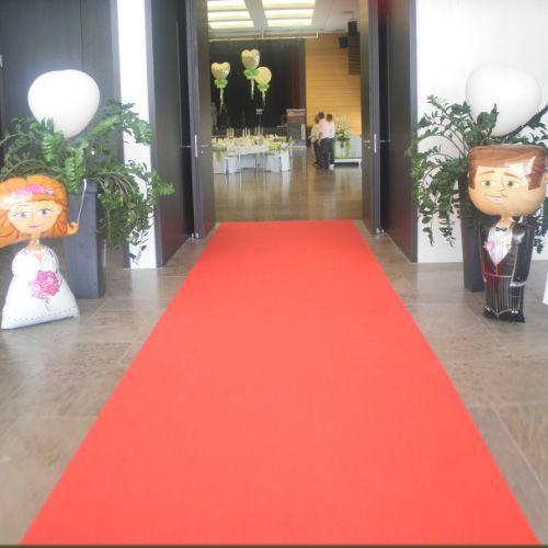 Beispiel: Ballonfiguren Brautpaar, Foto: Ballonwerk.