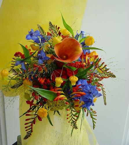 Beispiel: Blumen für Ihr schönstes Fest, Foto: Blumen Kamm.