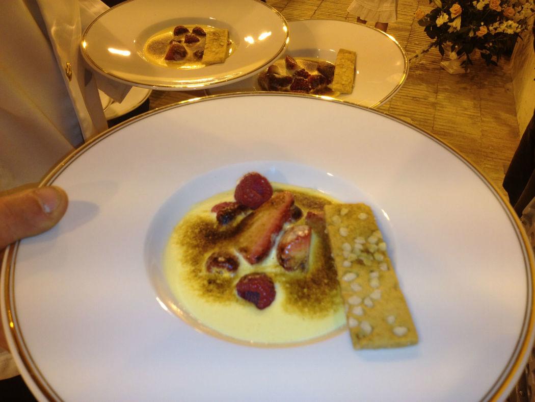 Sabayon de fruits rouge pour votre dessert !