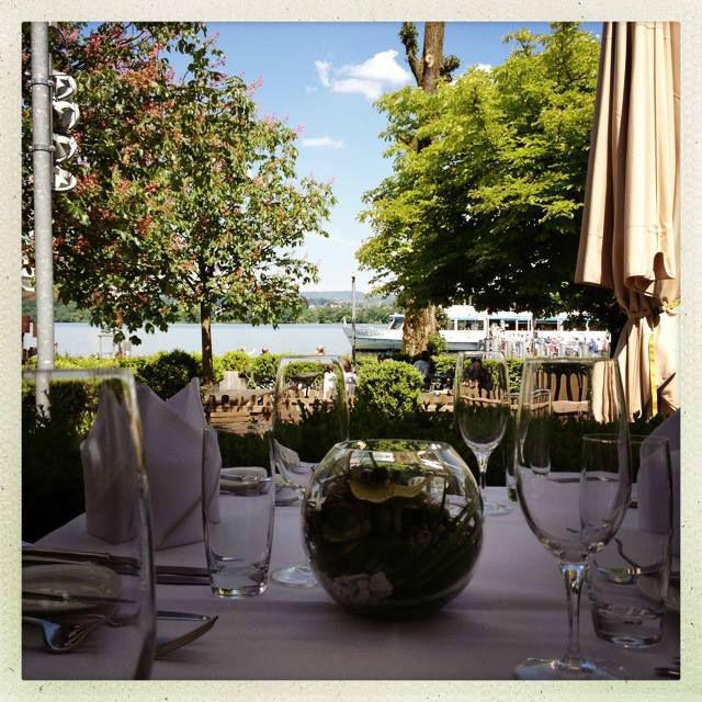 Beispiel: Terrasse, Foto: Restaurant Schifflände.