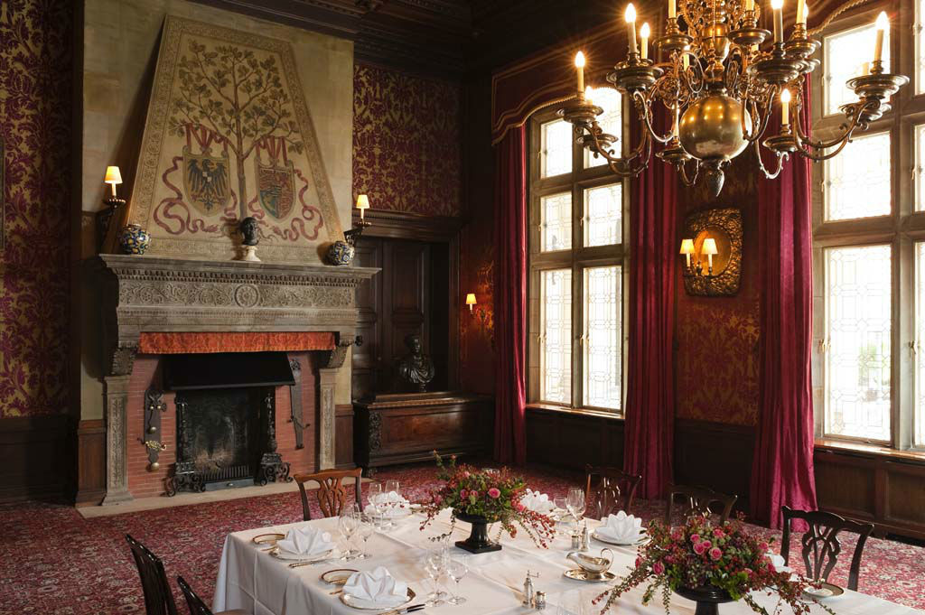 Beispiel: Eindruck von den Räumlichkeiten, Foto: Schlosshotel Kronberg.
