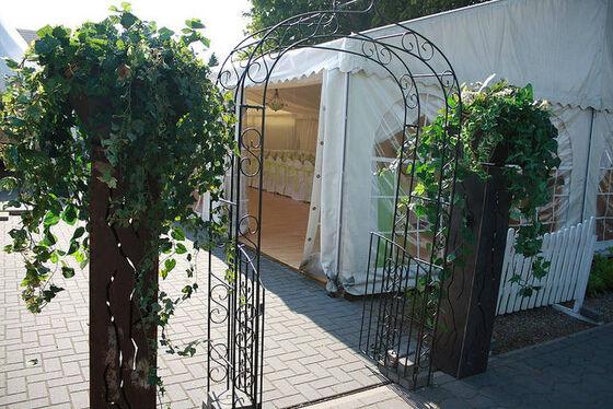 Beispiel: Hochzeitsfestzelt, Foto: Eventoase Schützenhaus.