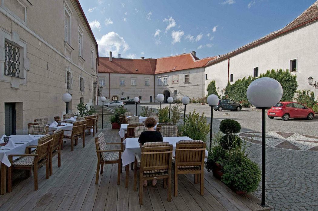 Innenhof, Foto: Schlosshotel Mailberg.