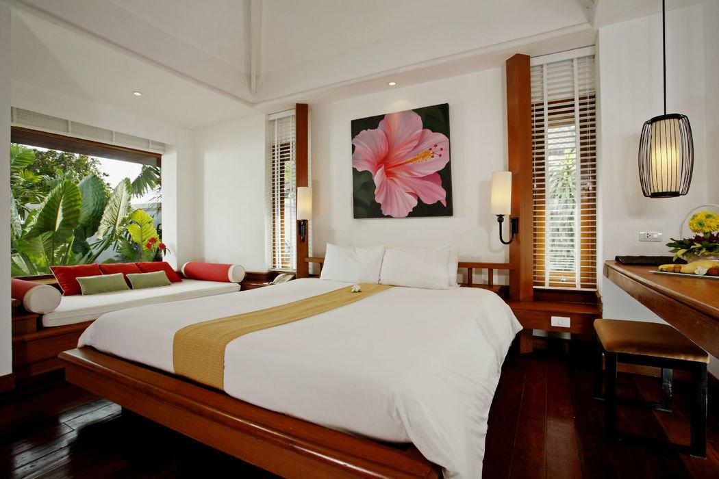 Zimmerbeispiel der Centara Villas Samui- Thailand, Foto: Centara Hotels and Resorts.