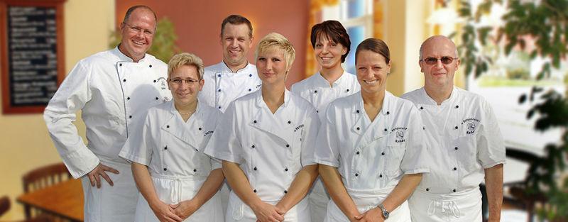 Beispiel: Das Team, Foto: Partyservice A. Rohde.