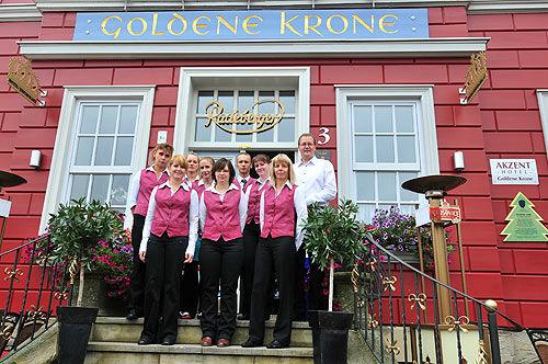 Beispiel: Team, Foto: AKZENT Hotel Goldene Krone.