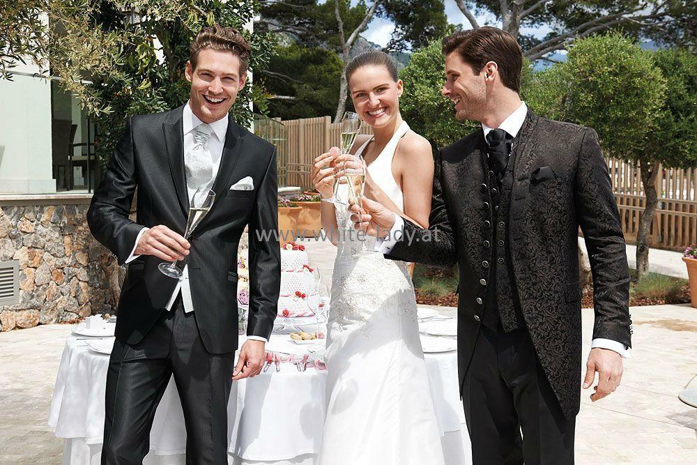Beispiel: Kleiden Sie sich für Ihren großen Tag ein, Foto: White Lady Bräutigam.