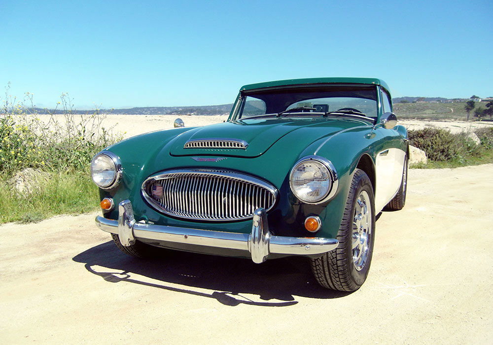 Beispiel: Austin Healey, Foto: Rent My Classic Car.