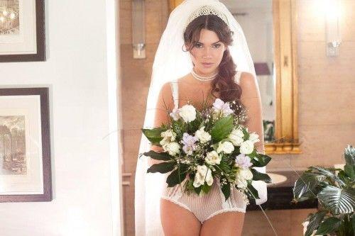 Beispiel: Braut in Unterwäsche, Foto: enamora.