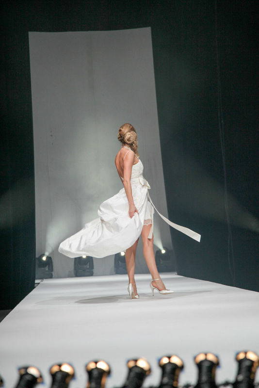 robe de mariée courte Gwanni