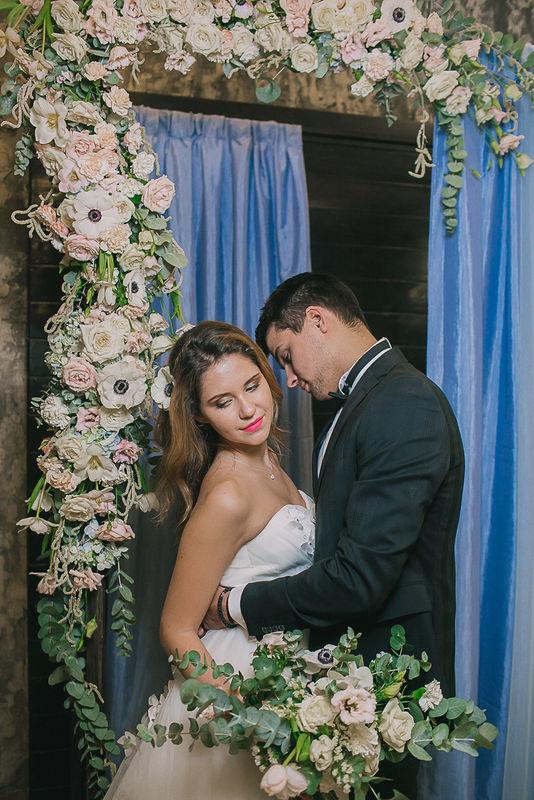 Выездная регистрация, арка для выездной регистрации, оформление выездной регистрации, цветы на свадьбу