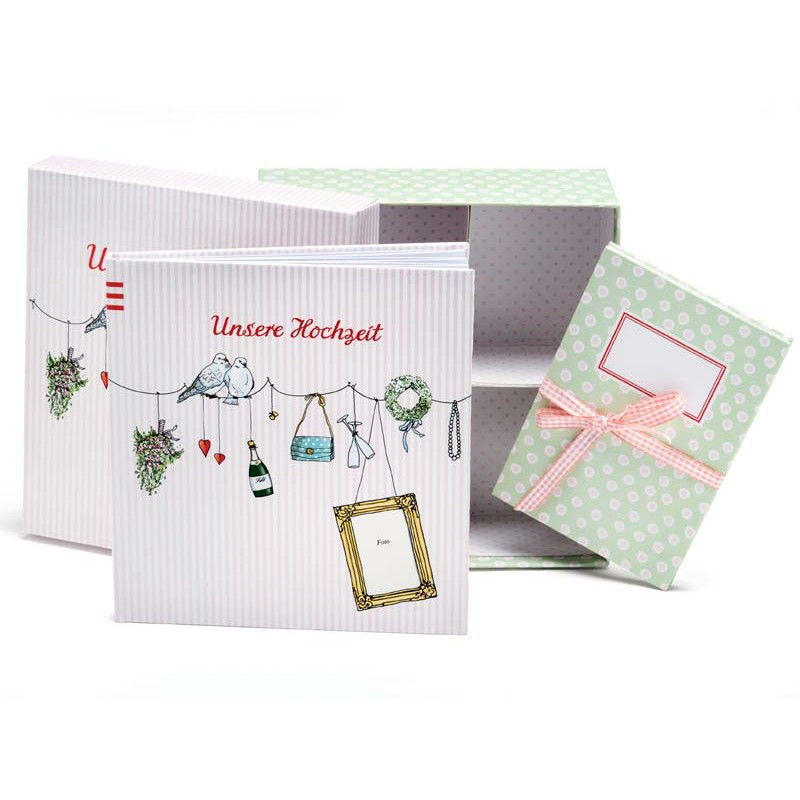 Beispiel: Geschenkbox, Foto: Schacht & Westerich Papierhaus.