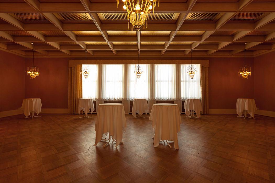 Konferenzsaal Das Foyer des Runden Saales