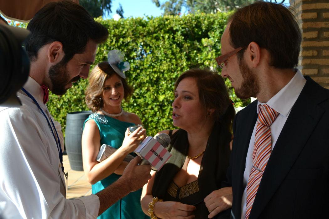 Entrevistas en nuestro Photocall a todos los invitados