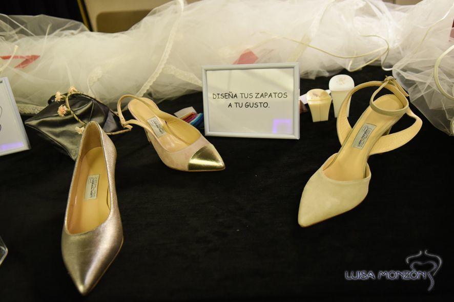 Diseña tus zapatos a medida en Luisa Monzón.