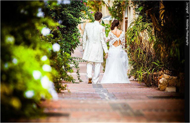 Beispiel: Innovative Hochzeitsfotos, Foto: Janograf Wedding Photography.