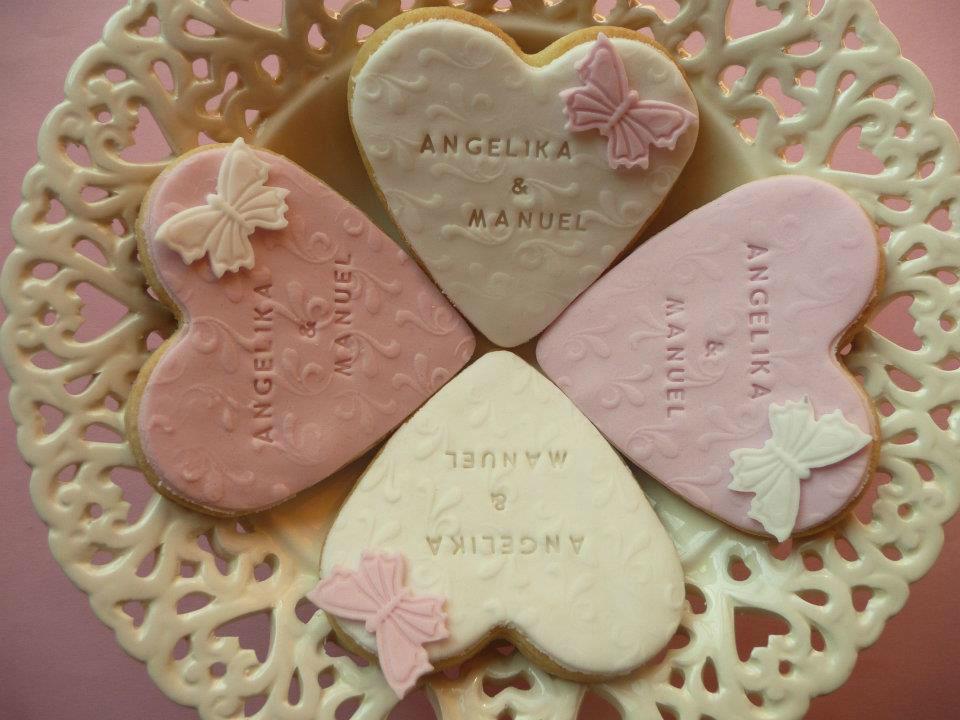 Beispiel: Kekse zur Hochzeit, Foto: Cupn'Keks.