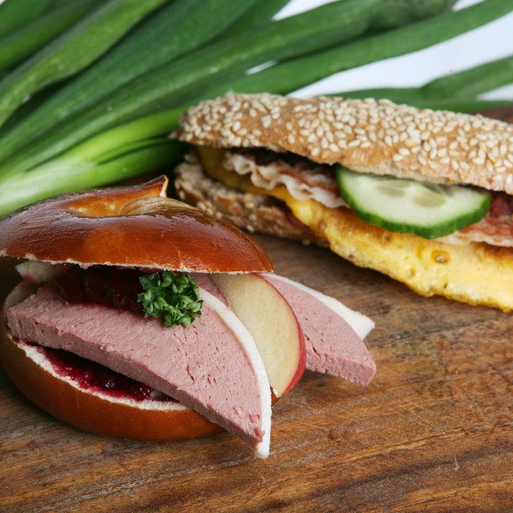 Beispiel: Fingerfood, Foto: Utis Catering.