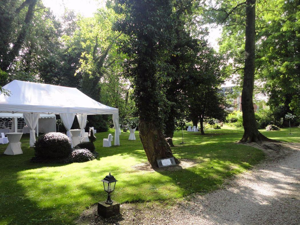 Manoir Le Louis XXI Vin d'Honneur Parc Anglais