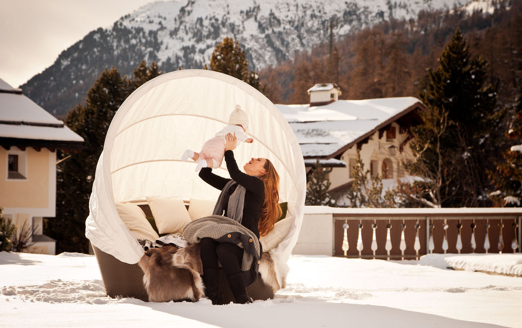 Winter-Lounge