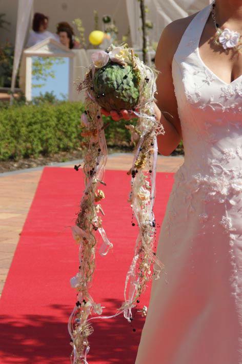Beispiel: Brautsträuße, Foto: Sandra's Blütenzauber.