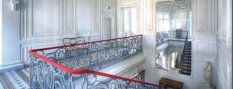 Beispiel: Eindruck von den Räumlichkeiten, Foto: Villa Raczynski.