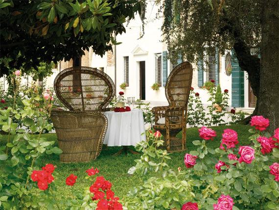 Il giardino di Villa Maschio