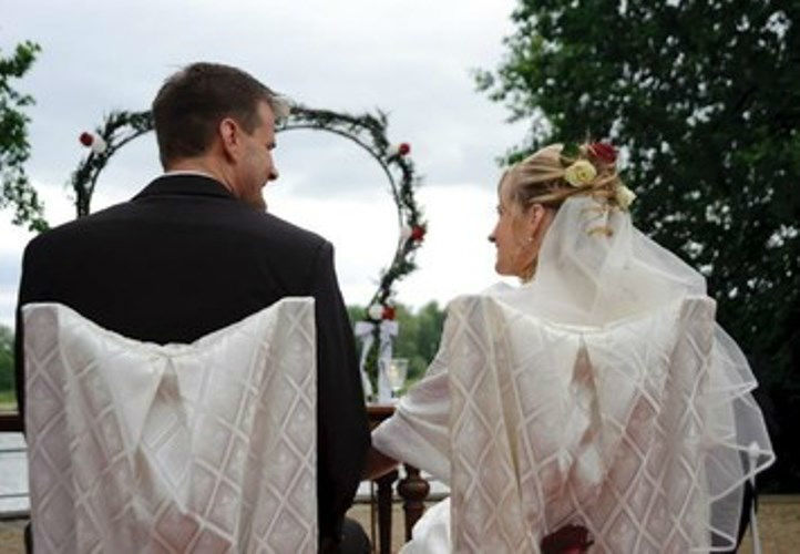 Beispiel: Individuelle Zeremonien, Foto: Freie Trauung Berlin.