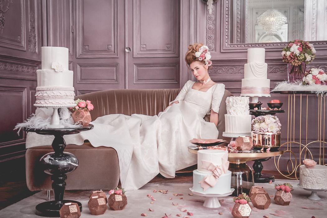 Déco Shooting d'inspiration - Commande Thème : Marie-Antoinette