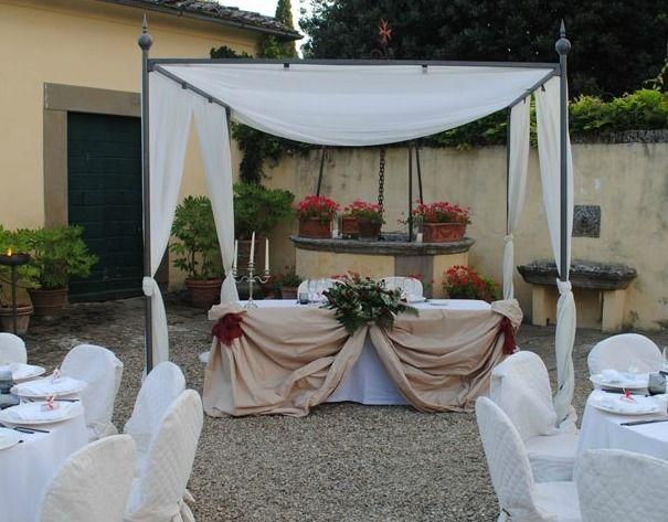Tavolo degli sposi - Villa Fontarronco