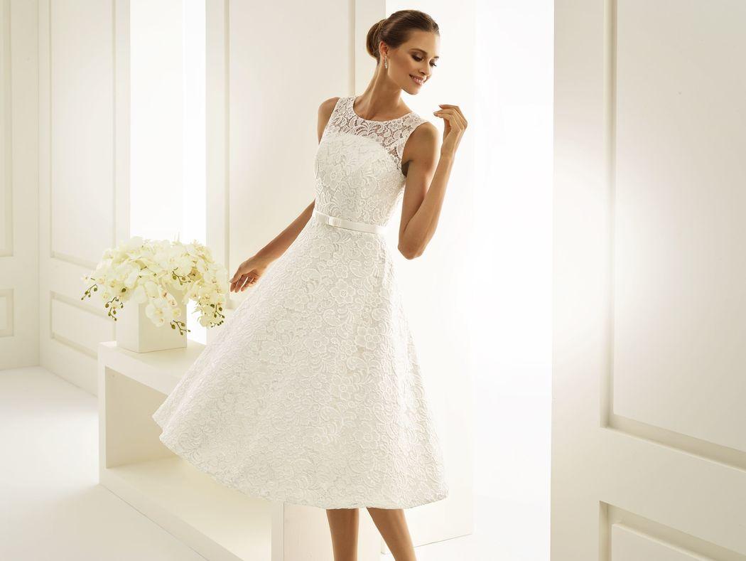 Brautkleid aus Spitze | Bianco Evento