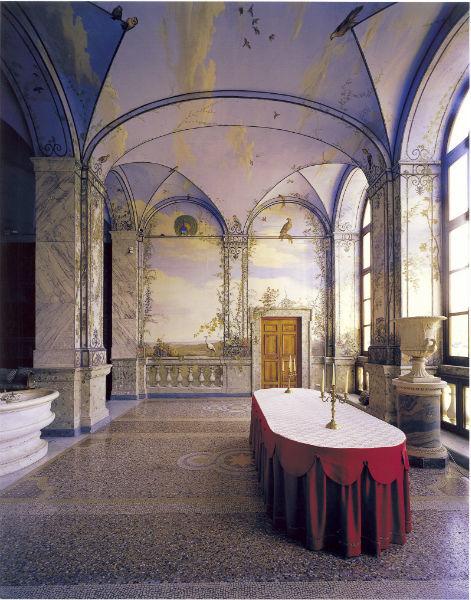 Palazzo Chigi in Ariccia - Sala da Pranzo d'Estate