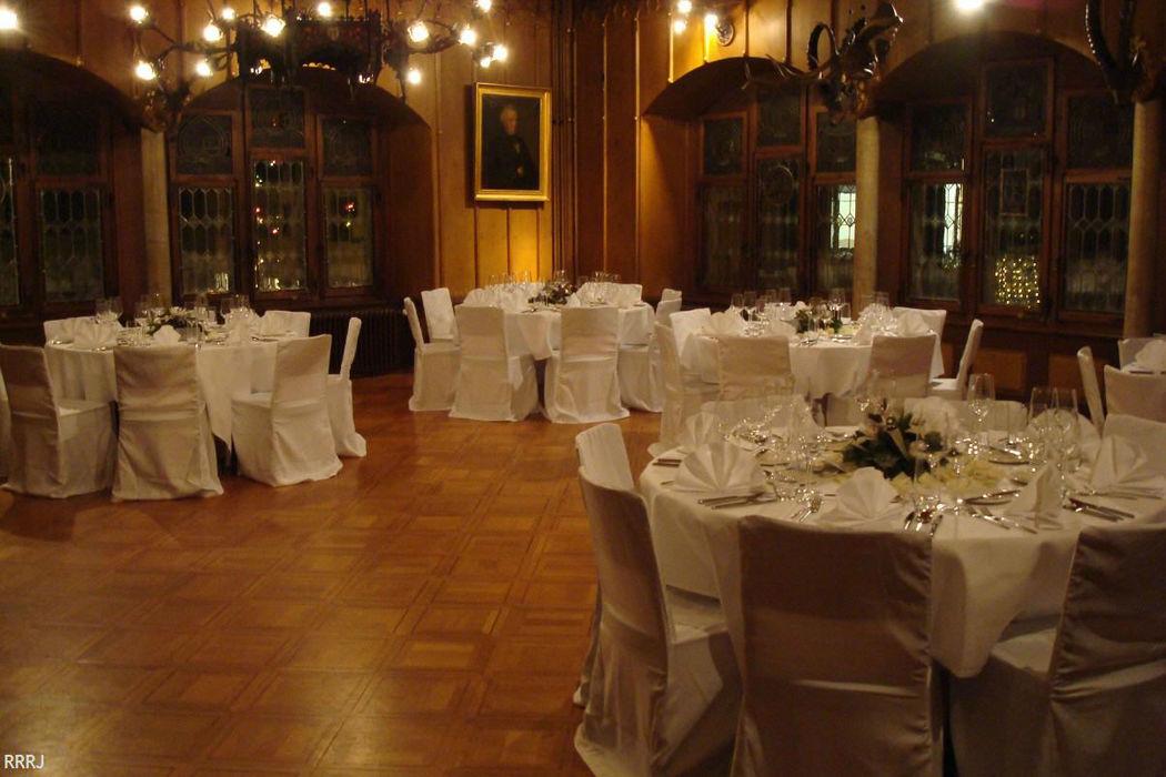 Beispiel: Der passende Rahmen für Ihre Hochzeit, Foto: Restaurant Rathaus.