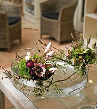 Beispiel: Kreative Blumenkunst, Foto: Himmel und Erde.