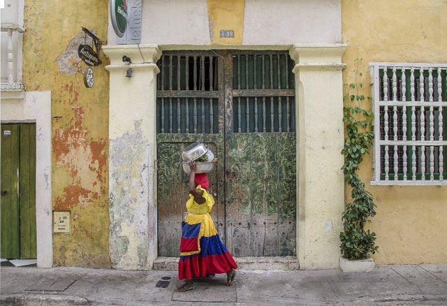 Calles de la Ciudad Amurallada - Cartagena