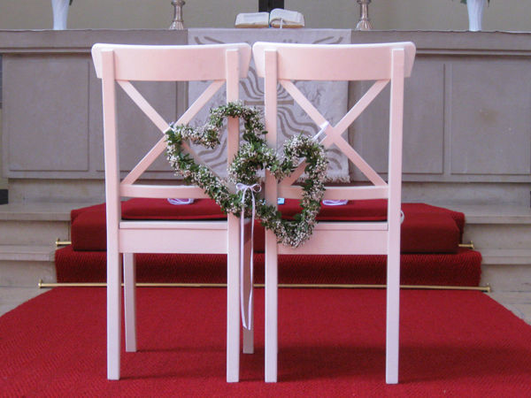 Beispiel: Blumen für die Zeremonie, Foto: Idea Verde.
