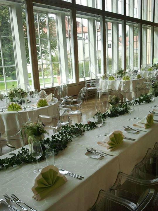 Beispiel: Hochzeitsfloristik, Foto: Event-Floristik Isabella Neumeister.