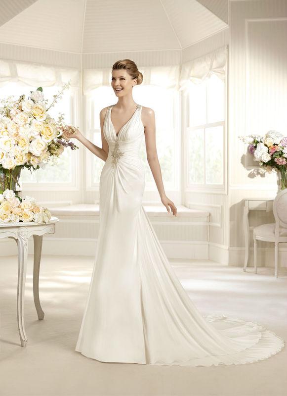 Beispiel: Brautkleider für jeden Geschmack, Foto: Petra Pabst.