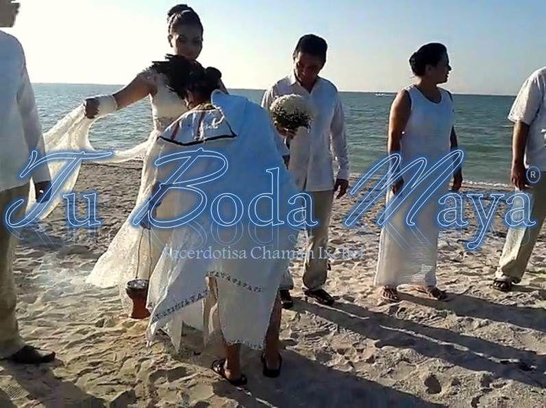 Tu Boda Maya Limpia y Bendicion de los Novios para la ceremonia