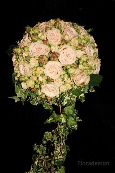 Beispiel: Brautstrauß, Foto: Floradesign.