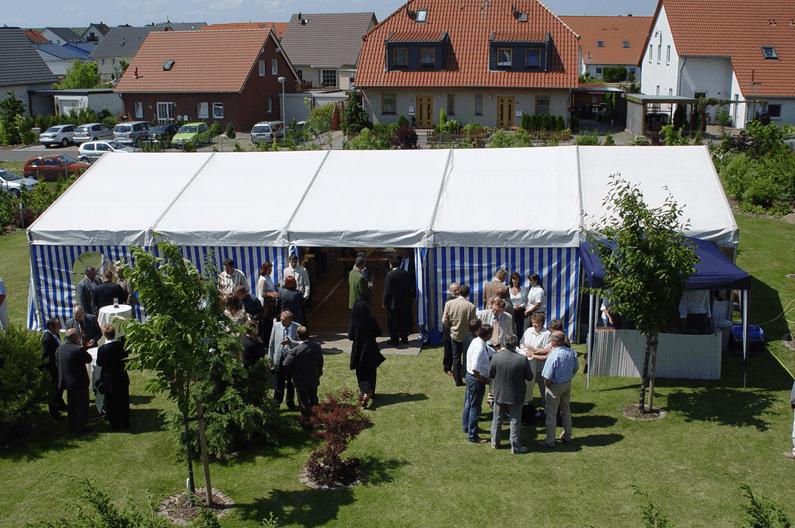 Beispiel: Pavillon, Foto: Seeblick Magdeburg.