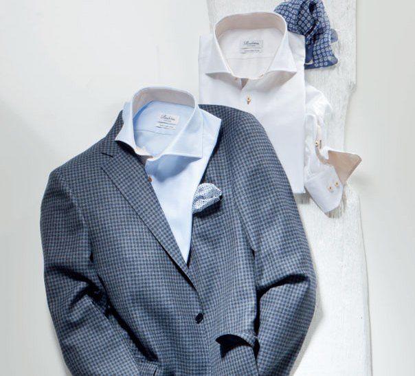 Beispiel: Festliche Mode für den Herren, Foto: Backs & Co.