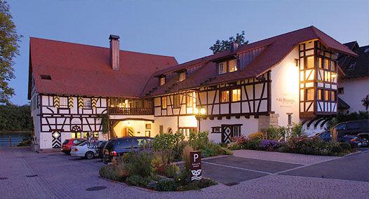 Beispiel: Innenhof, Foto: Alte Rheinmühle.