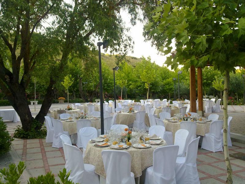Decoración de espacios para boda al exterior