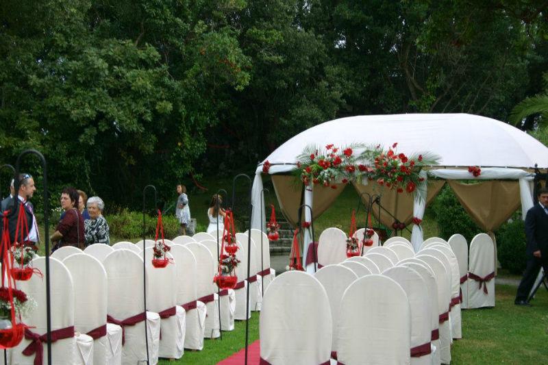 Ceremonia civil jardín