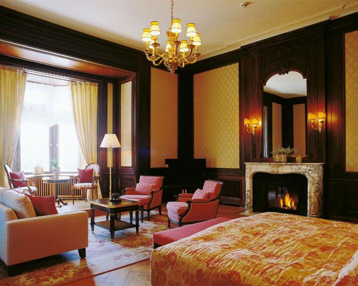 Beispiel: Baronesssuite, Foto: Villa Rothschild.