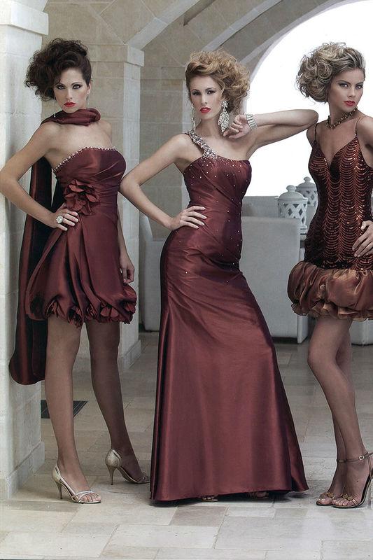 Beispiel: Abendkleider für jeden Geschmack, Foto: Brautparadies Thun Festmode.