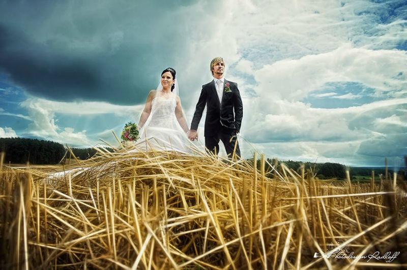 Beispiel: Perspektiv-Wechsel für Ihre Hochzeitsbilder, Foto: Photodesign Radloff.