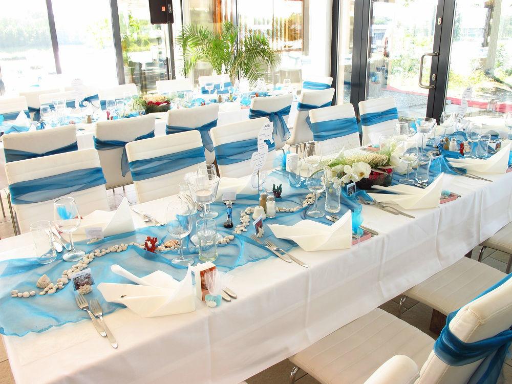 Foto: Hochzeitstisch im